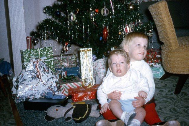 Paul and Ruth on Christmas
