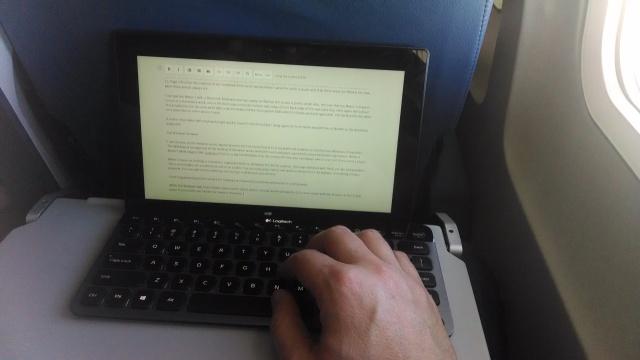 Surface Pro and Logitech Keyboard