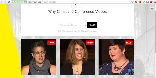 why christian conference videos