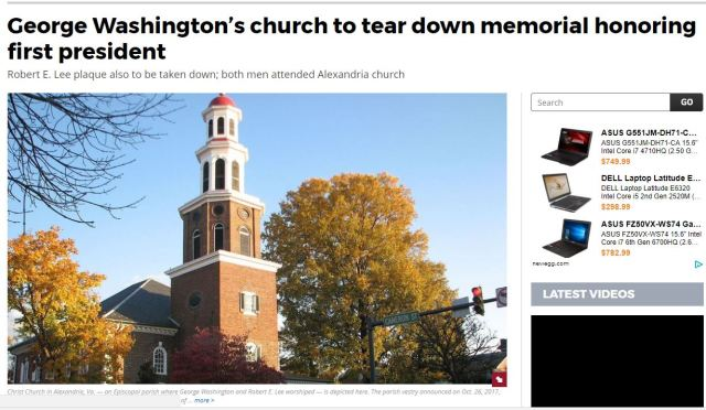washington and lee church