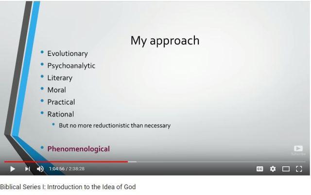 approach biblical series 1
