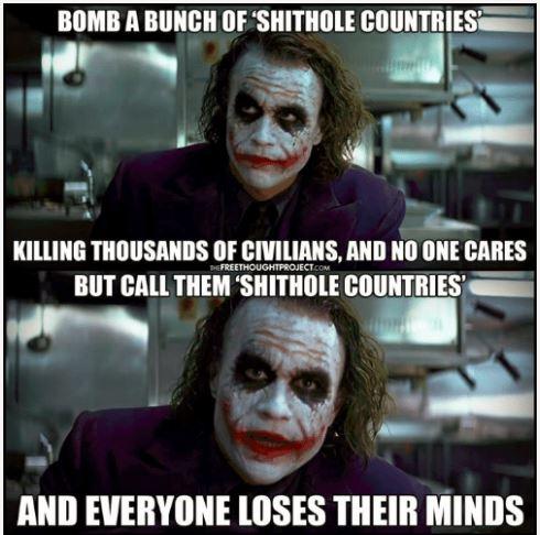 bomb shithole
