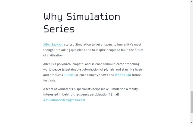 simulation series