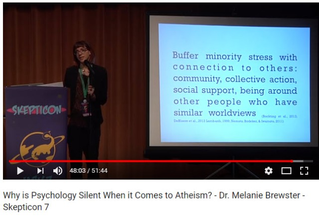 community building atheist minority stress