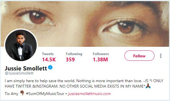 jussie smollett just trying to save the world