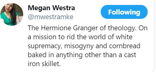 megan westra twitter profile