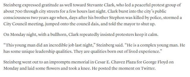 steinberg gratitude stevante clark